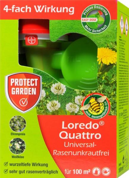 Protect Garden Loredo Universal Lawn Weed Killer Quattro, 100 ml