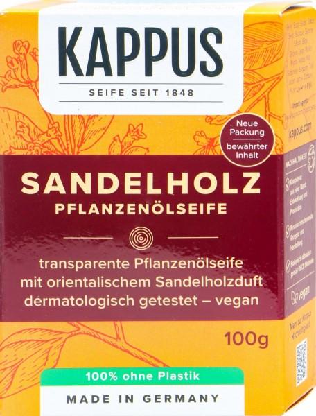 Kappus Sandalwood Soap, 100 g