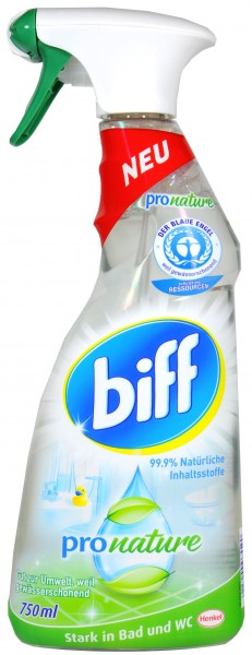 Biff Bath and Toilet Pro Nature Pistol, 750 ml