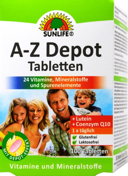 Sunlife A-Z Complex, 100-count