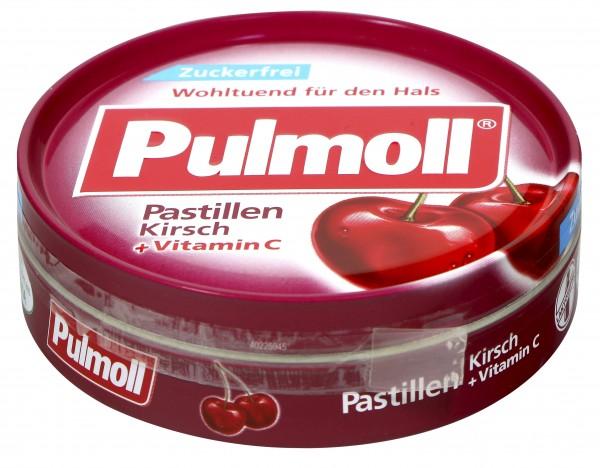 Pulmoll Cherry Vitamin C, sugar-free, 50 g