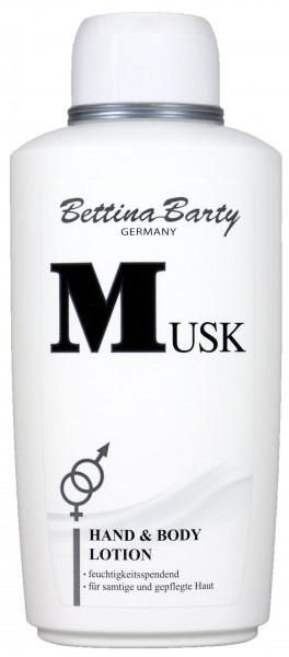 Bettina Barty Musk Lotion, 500 ml
