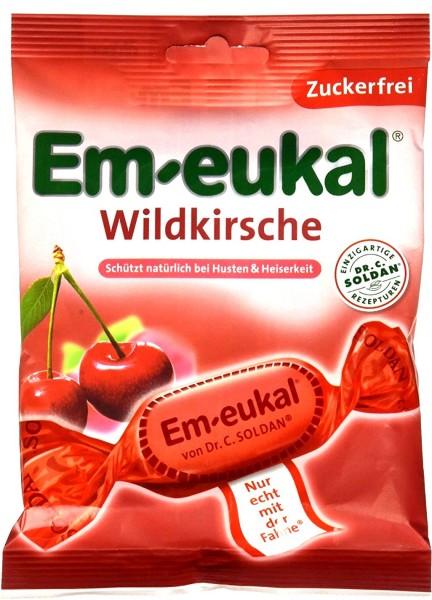 Em-Eukal Wild Cherry, sugar-free, 75 g