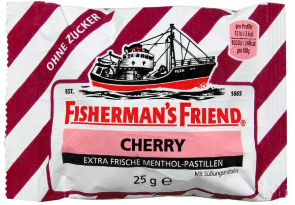 Fisherman's Friend Cherry, sugar-free, 25 g