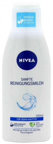 Nivea Visage Gentle Cleansing Milk, 200 ml