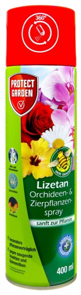 Protect Garden Lizetan Orchid and Ornamental Plant Spray, 400 ml