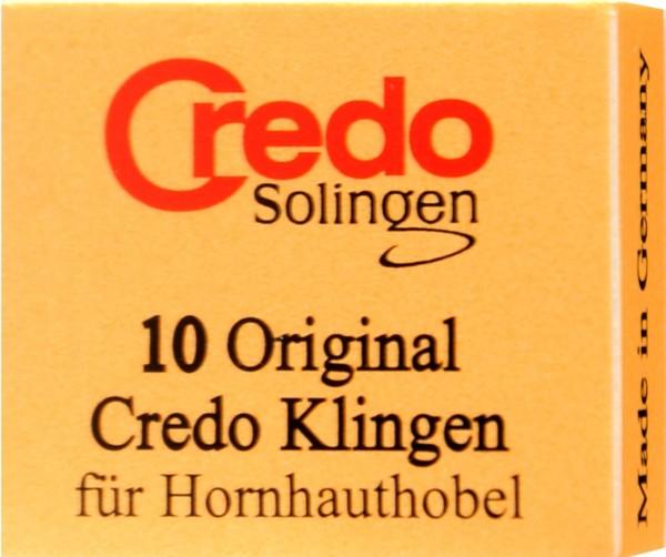 Credo Original Callus Scraper Blades, 10-pack