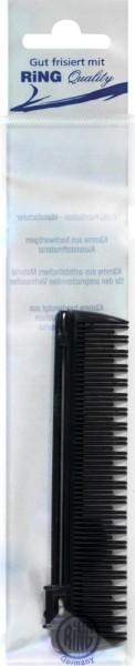 Retractable Needle Comb, Black, 1106