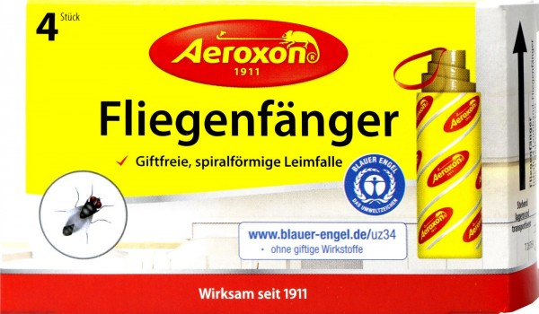 Aeroxon Flypaper, 4-count