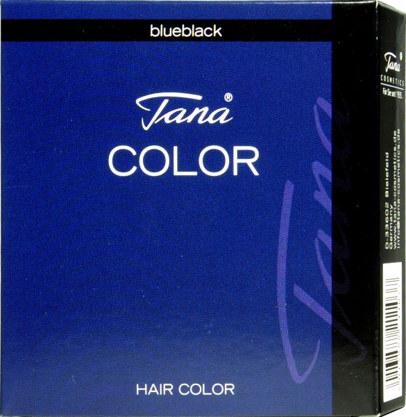Tana Colour Eyelash Tint, Blue Black