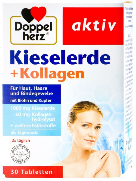 Doppelherz Silica + Collagen, 30-count