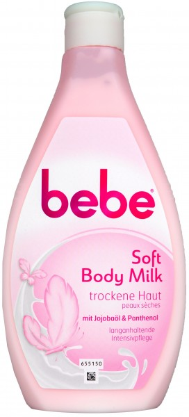 Bebe Young Care Soft Body Milk, 400 ml