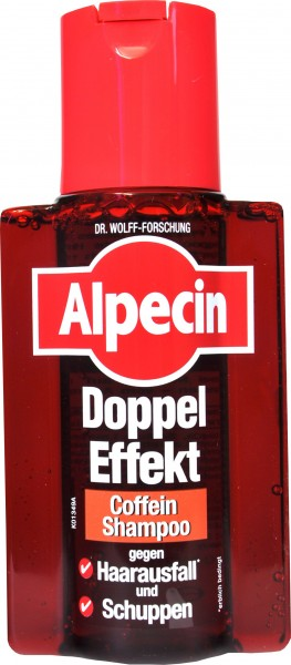 Alpecin Double-Effect Caffeine Shampoo, 200 ml