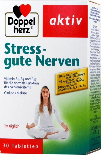 Doppelherz Stress Good Nerves, 30-count