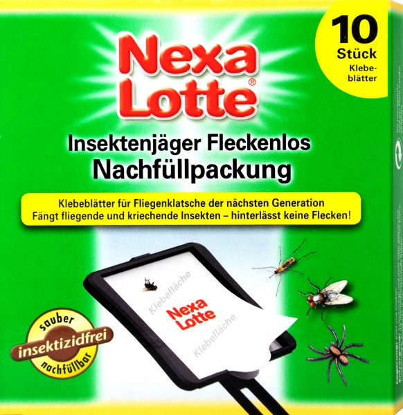 Nexa Lotte Insect Hunter Refill Pack, 10-count
