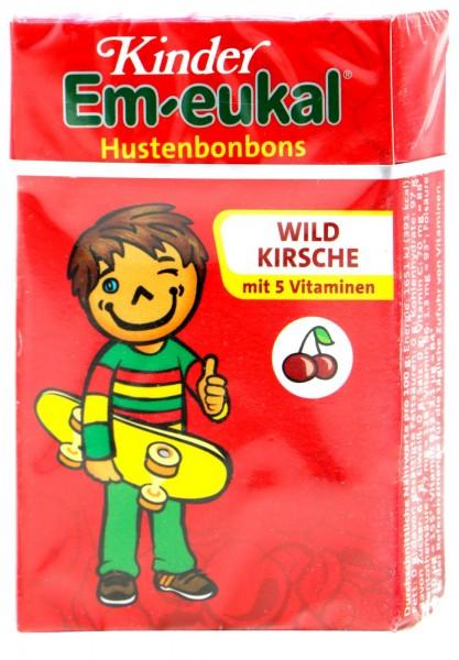 Em-Eukal Children's Box Wild Cherry Minis, 40 g