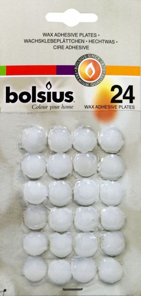 Adhesive Candle Pads, 15-pack