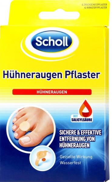 Scholl Chicken Eyes Plaster, 4-count