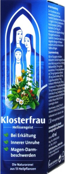 Klosterfrau Lemon Balm Spirit, 47 ml