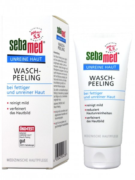 Sebamed Blemished Skin Exfoliating Cleanser, 100 ml