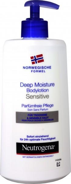 Neutrogena Sensitive Skin Body Lotion, 400 ml