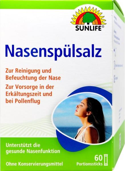Sunlife Nasal Rinsing Salt, 60-count