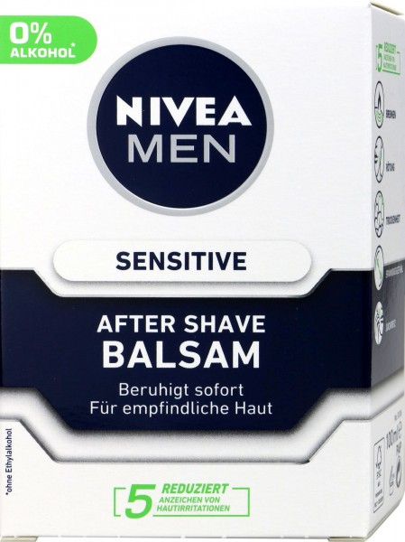 Nivea Men Sensitive After Shave Balm, 100 ml