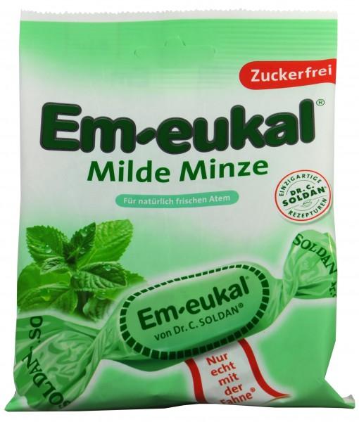 Em-Eukal Mild Mint, sugar-free, 75 g