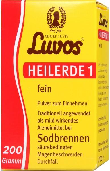 Luvos Healing Earth 1, fine, 200 g