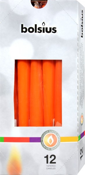 Bolsius Tapered Candle, Mango, 250 x 24 mm