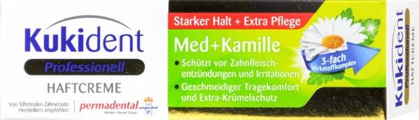 Kukident Chamomile Super Denture Adhesive Cream, 40 g