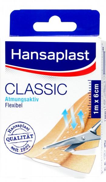 Hansaplast Classic 1 m: 6 cm, 1-pack