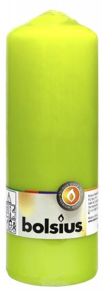 Eika Pillar Candle, Pistachio, 210 x 70 mm