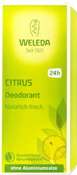 Weleda Lemon Deodorant, 100 ML