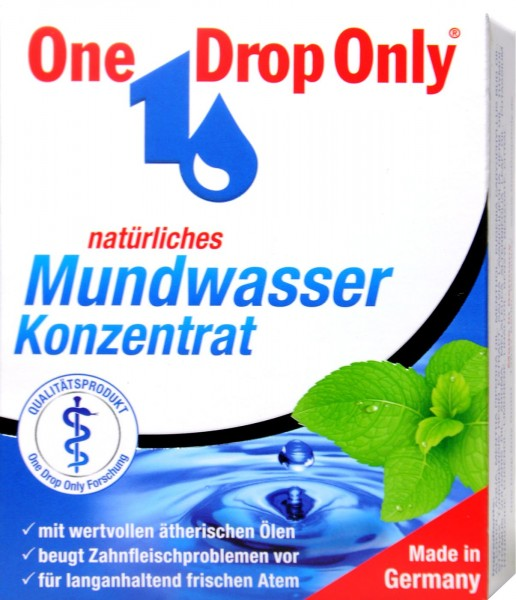 One Drop Only Medicinal Mouthwash, 50 ml