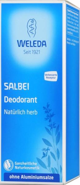 Weleda Sage Deodorant, 100 ML