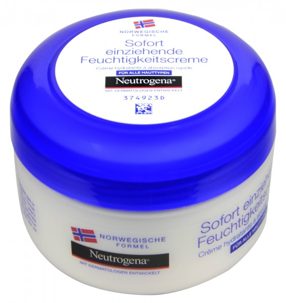 Neutrogena Instant Absorption Moisturiser, 200 ml