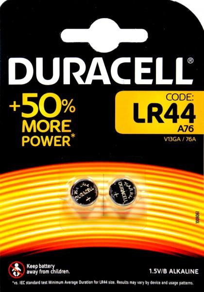 Duracell Electronics LR 44, 2 x 1.5 V