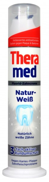 Theramed Natural White, pump, 100 ml