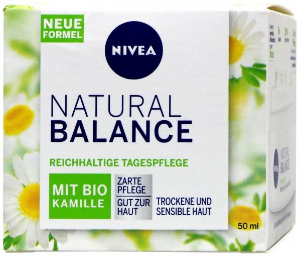 Nivea Natural Balance Rich Day Care, 50 ml