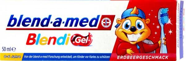 Blend-a-Med Blendi Gel Strawberry-Flavoured, 50 ml