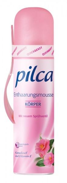 Pilca Hair Removal Mousse, pump dispenser, 150 ml