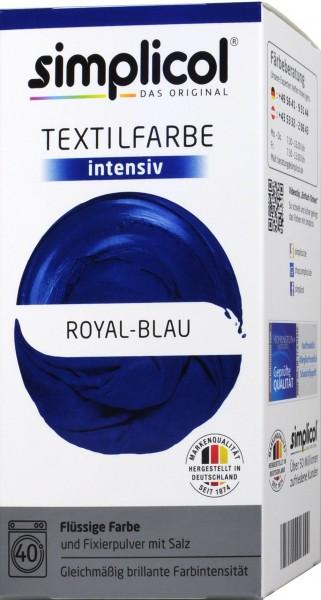 Simplicol Intensive Textile Dye, Royal Blue, 1809