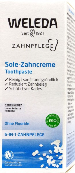 Weleda Brine Toothpaste, 75 ML