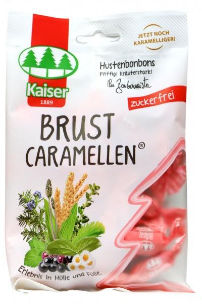 Kaiser Chest Caramels, sugar-free, 75 G