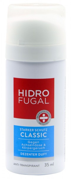 Hidrofugal Classic Mini Deo Spray, 35 ml