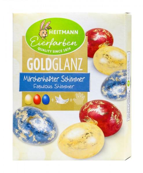 Egg dyes shining like gold, 7793