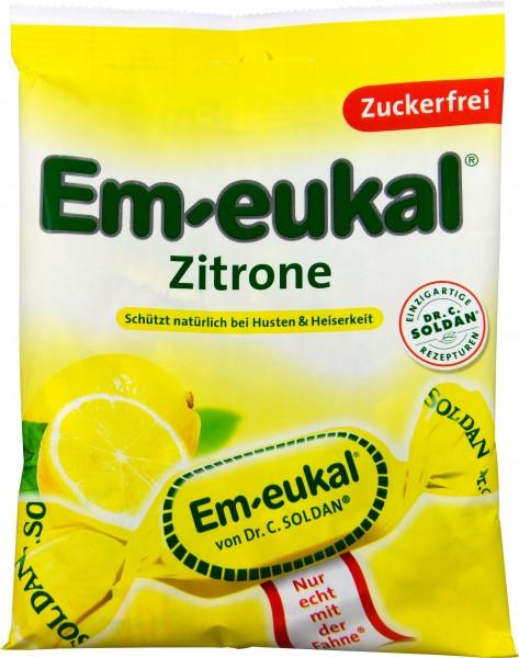 Em-Eukal Lemon, sugar-free, 75 g
