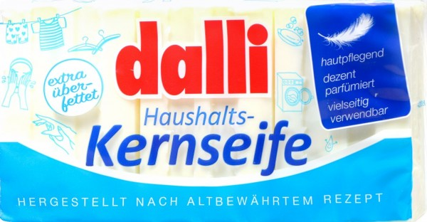 Dalli Household Curd Soap, 3x100 g