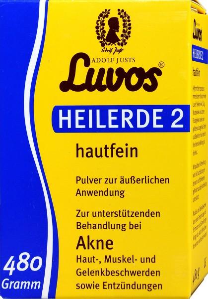 Luvos Healing Earth 2, fine, 480 g